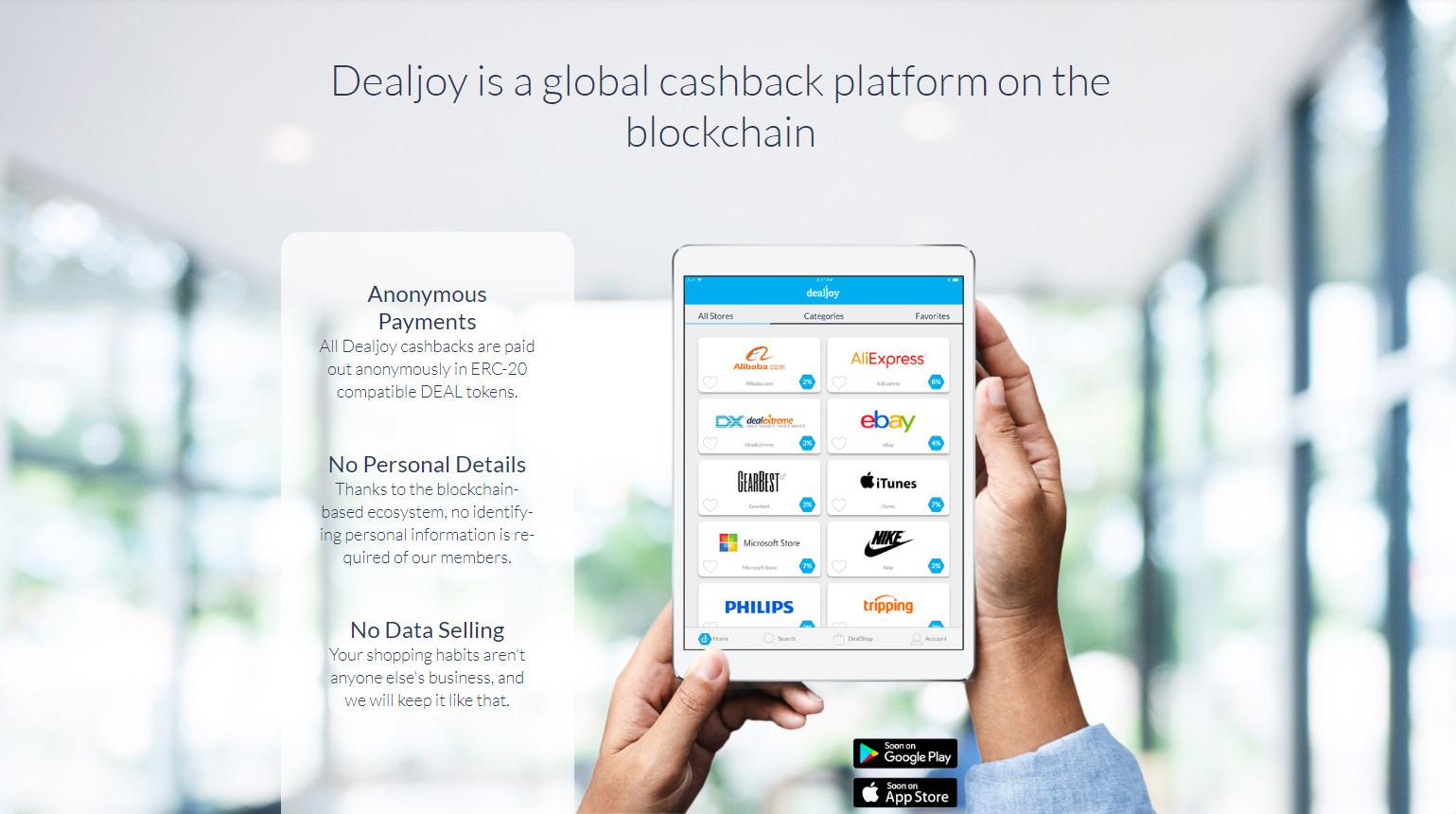 dealjoy global cashback