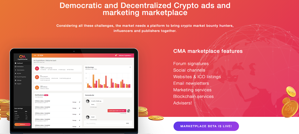 cryptocurrency email marketing