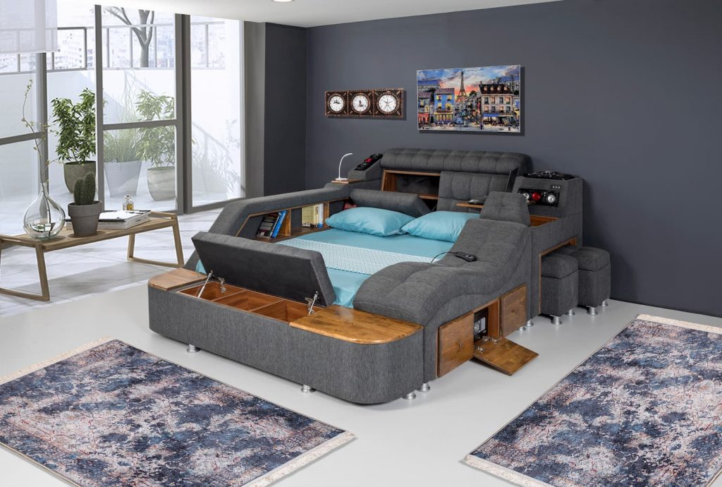Smart bed for a comfortable sleeping quality